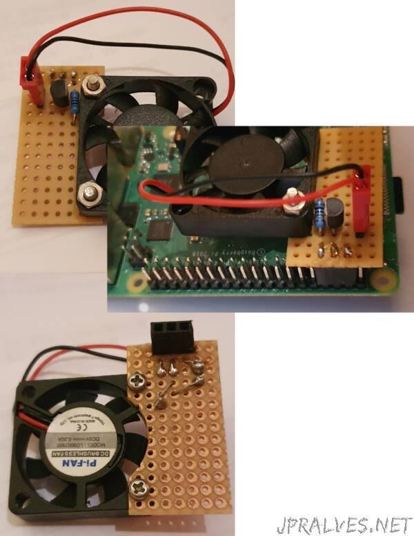 Attaching a CPU fan to a RPi running Ubuntu Core
