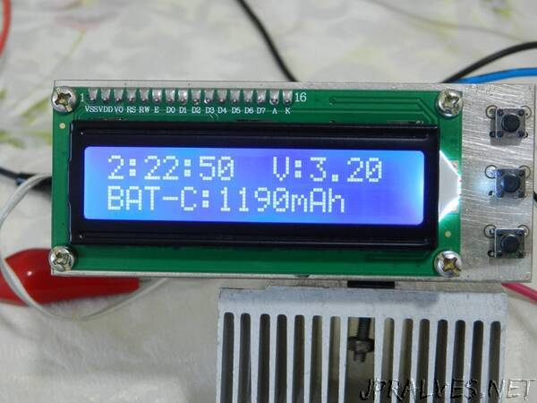 Measuring the Battery Capacity (Lithium-NiMH-NiCd)
