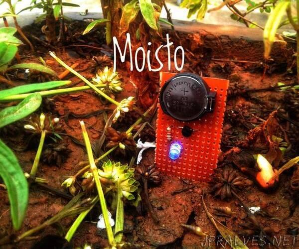 Moisto : Soil Moisture Sensor