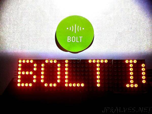 Bolt IoT Notice Board