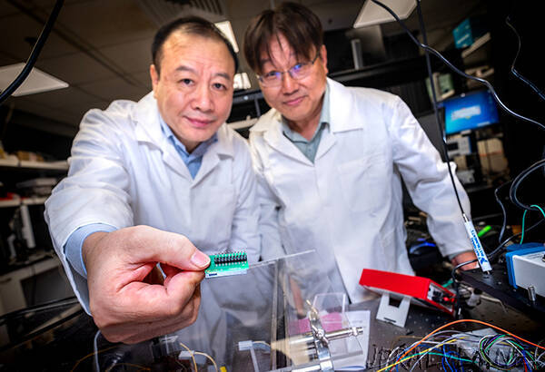 NTU Singapore researchers develop quantum communication chip 1,000 times smaller than current setups