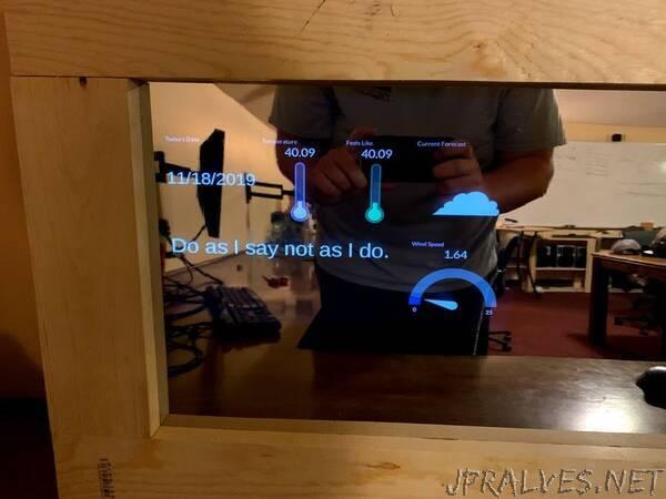 Smart Mirror Using BeagleBone Black