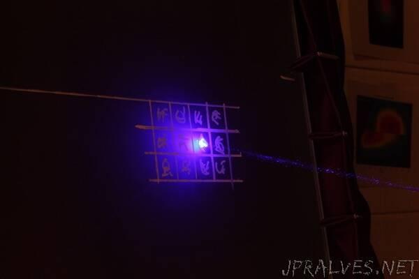 Using light to encrypt communications