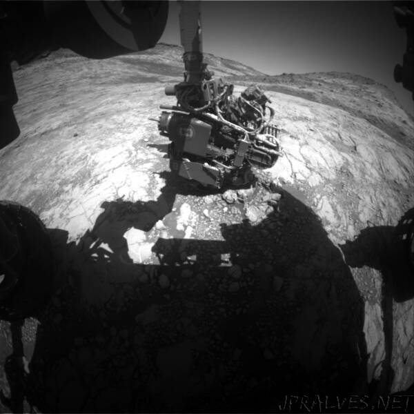Sols 2649-2652: Curiosity Loses Its Attitude