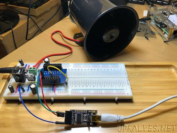 Do It Yourself Siren Alarm Based on ESP32 Wemos D1 R1