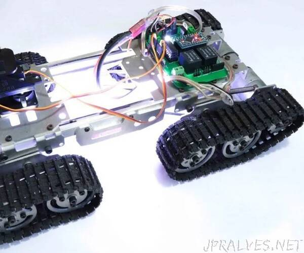 RC Tracked Robot Using Arduino  Step by Step