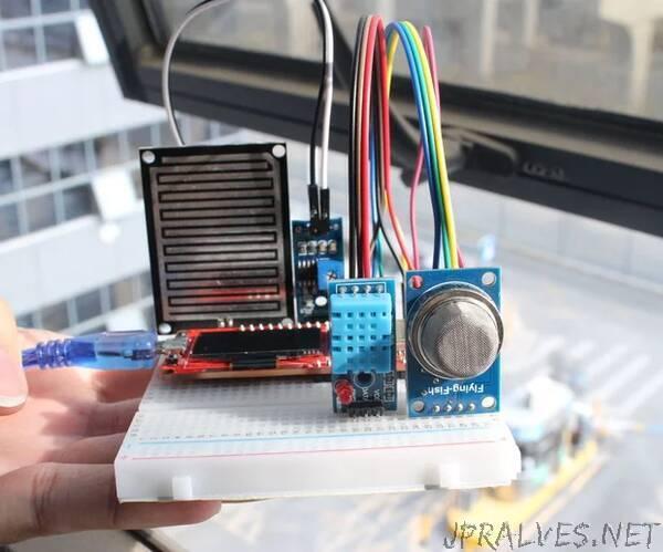 MicroPython ProgramMini Weather Station