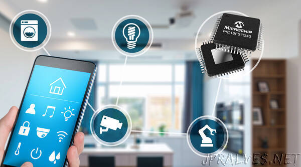 New PIC® MCU Family Moves Software Tasks to Hardware for Faster System Response