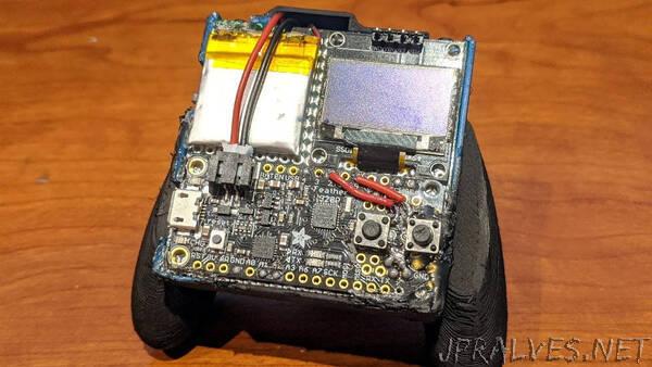 Small Low Powered Mini OLED Retro Handheld