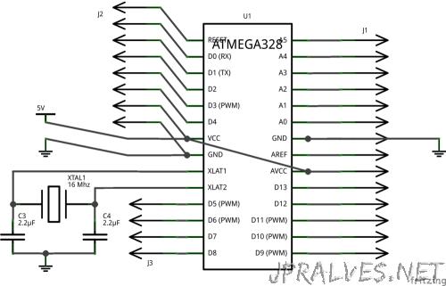 schematics microcontroller