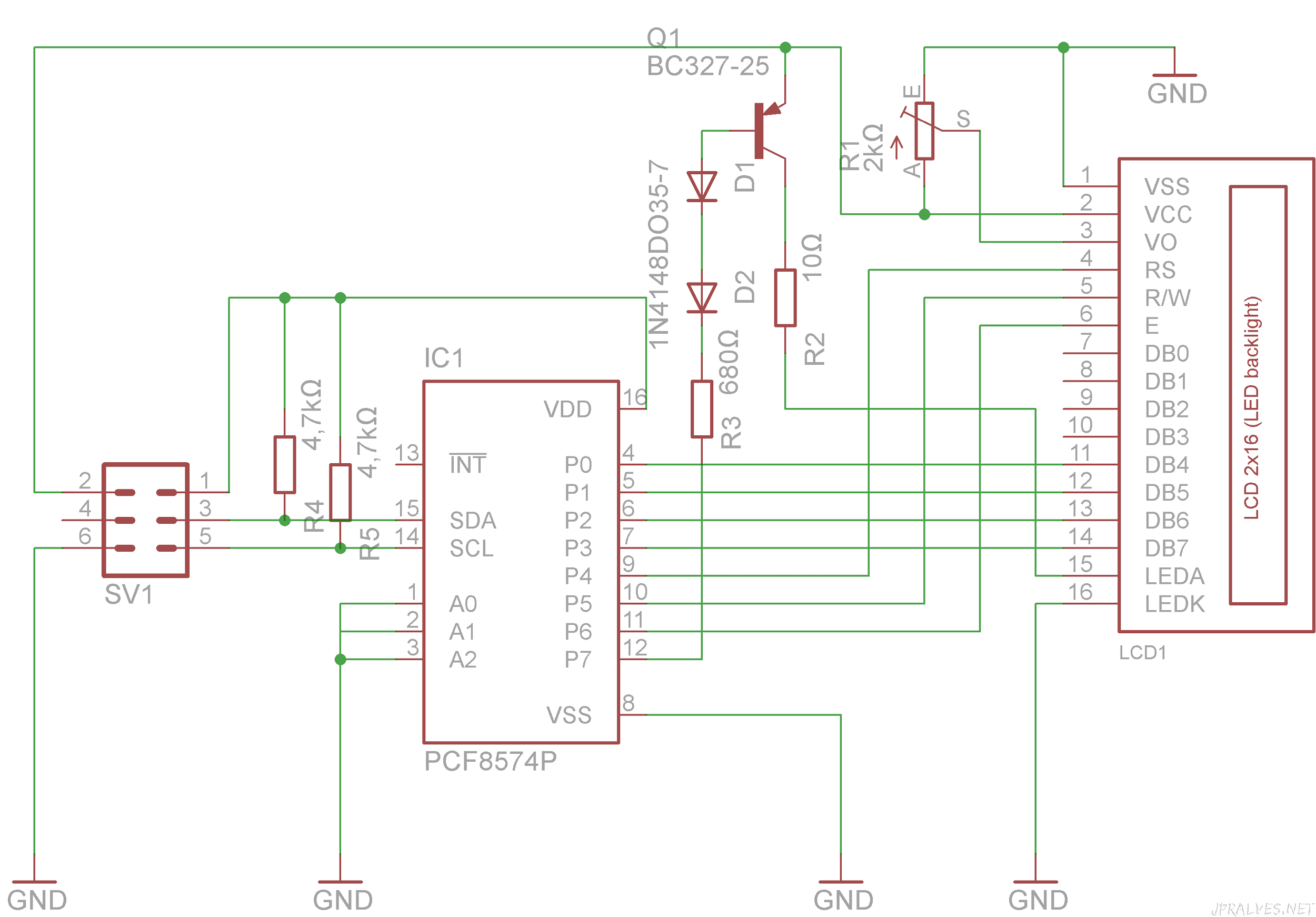 Texas Instruments 8 Bit Comparator Circuit Diagram