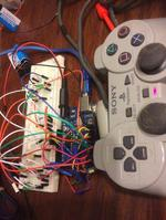 PS2 Wire Controller and Arduino (control LEDs)