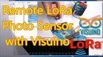 Arduino and Visuino: Long Distance Remote Light Sensor With RFM95W/RFM98W Makerfabs LoRa Shields
