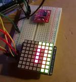 Arduino Matrix Clock