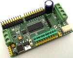 PIC Development Board for RS485 & DMX512 Applications