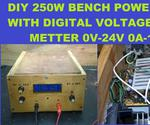 DIY 240W Bench Power Supply Tutorials 0V To 24V 0 To 10A