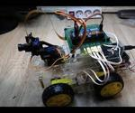 Rasbperrypi Car With Fpv Camera. Control By Web Browser
