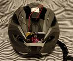 A Micro:bit Directional Indicator for Bicycle Helmets