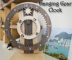 Hanging Gear Clock