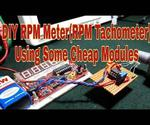 Simple RPM Meter Using Cheap Modules