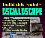 DIY Mini Oscilloscope