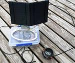 Solar-powered IoT Ultrasonic Oil Tank Monitor by Steve M. Potter