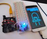 Arduino Controlling Led With HC-06 Bluetooth Module