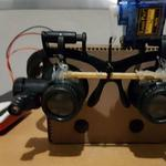 Voice Controlled Glasses and Magnifying Lens