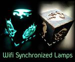 Wifi Synchronized Lamps