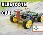 Simple CAR Arduino Bluetooth Controlled