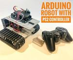 Arduino Robot With PS2 Controller (PlayStation 2 Joystick)