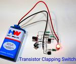 Clapping Switch With BC547 Transistor